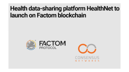 Health data-sharing platform HealthNet to launch in the spring of 2020