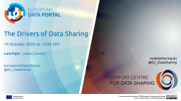Data Talk: The Drivers of Data Sharing