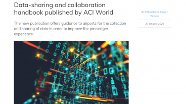 ACI World publishes a handbook on data-sharing and collaboration