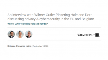 Privacy and cybersecurity in the EU and Belgium
